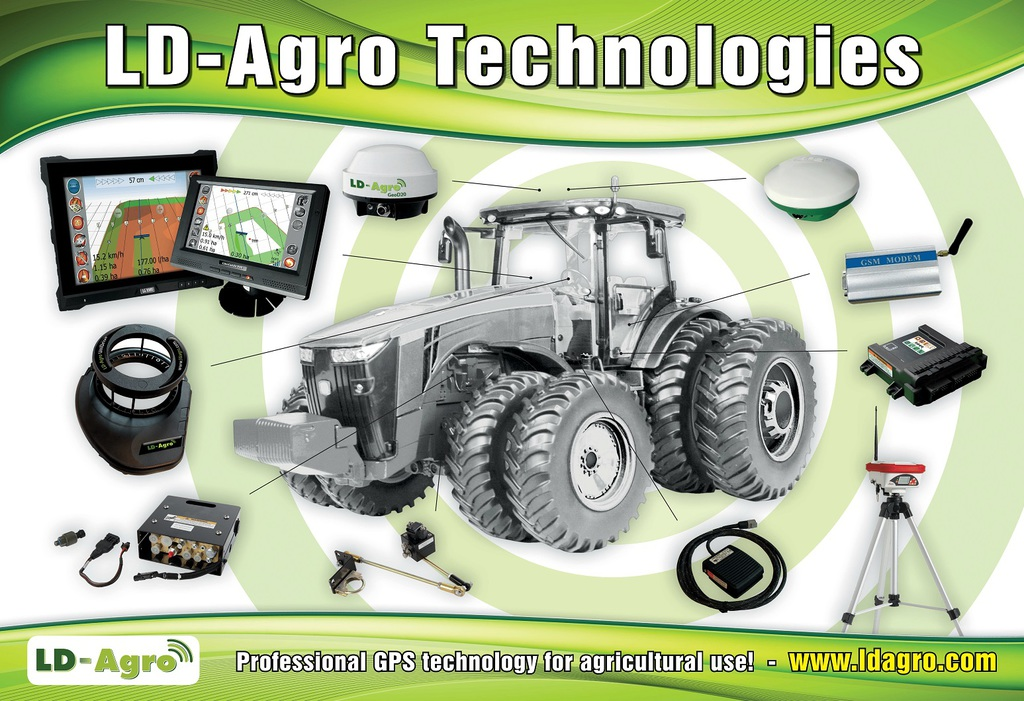 LD-Agro tractor
